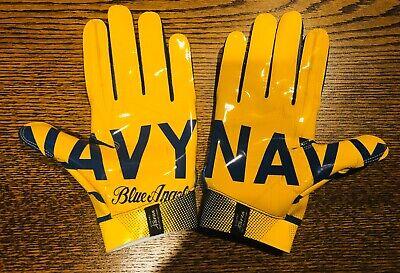 Team Issued Baltimore Ravens Under Armour Swarm 2xl Football Gloves