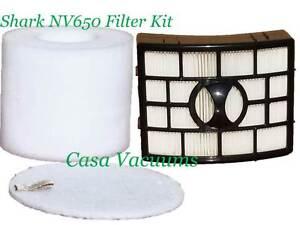 Foam Felt HEPA Filter For Shark NV650 Rotator Lift-Away Vacuum XFF650/&XHF650