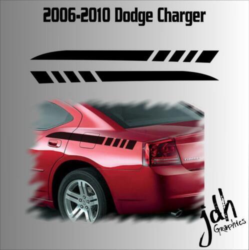2006-2010 Dodge Charger Rear Quarter Panel Stripe Vinyl Decal Graphic RT Car