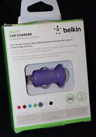 Belkin Iphone 1 Amp Mixit Car Charger - Purple
