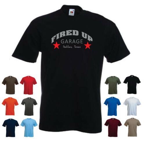 Fired Up Garage Custom T-shirt