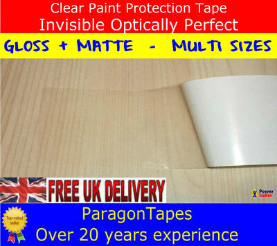 RHINO HIDE Clear Helicopter Bike Frame Protection Tape 1mtr x 50mm 3 x LAYER