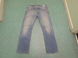 "Gehorsam Diesel Viker Waist 34"" Leg 33"" Faded Medium Blue Mens Jeans Mangelware Herrenmode"