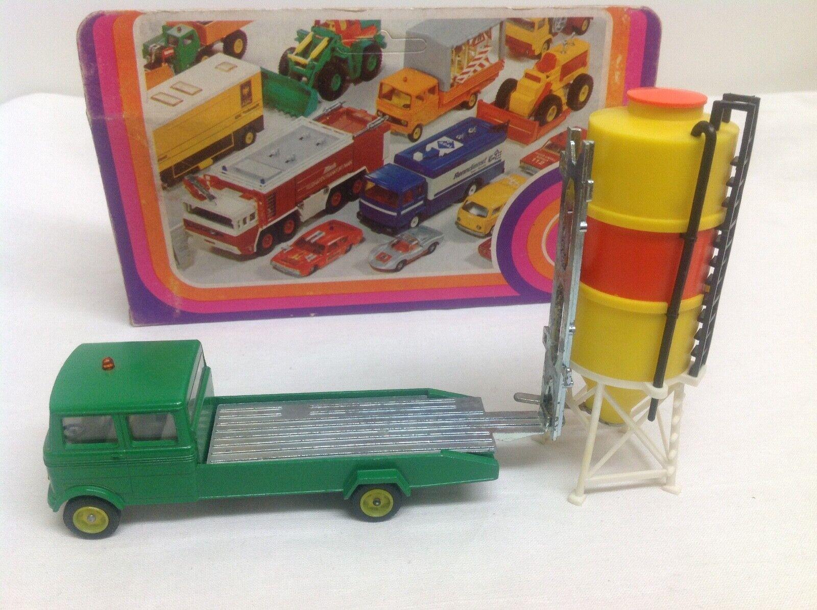 Siku V 335 336 319 mercedes benz 608 silo Transporter + Box