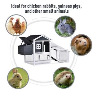 Deluxe Chicken Coop Small Animal Habitat Hen House with Outdoor Run Resting Nesting Box Removable Tray Waterproof Aspha Toronto (GTA) Preview