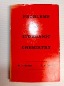 Problems-In-Inorganic-Chemistry-B-J-Aylett-B-C-Smith-1966-1st-Ed-HC-W-DJ