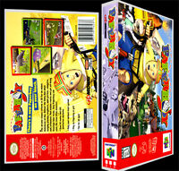 Paperboy - N64 Reproduction Art Case/box No Game.