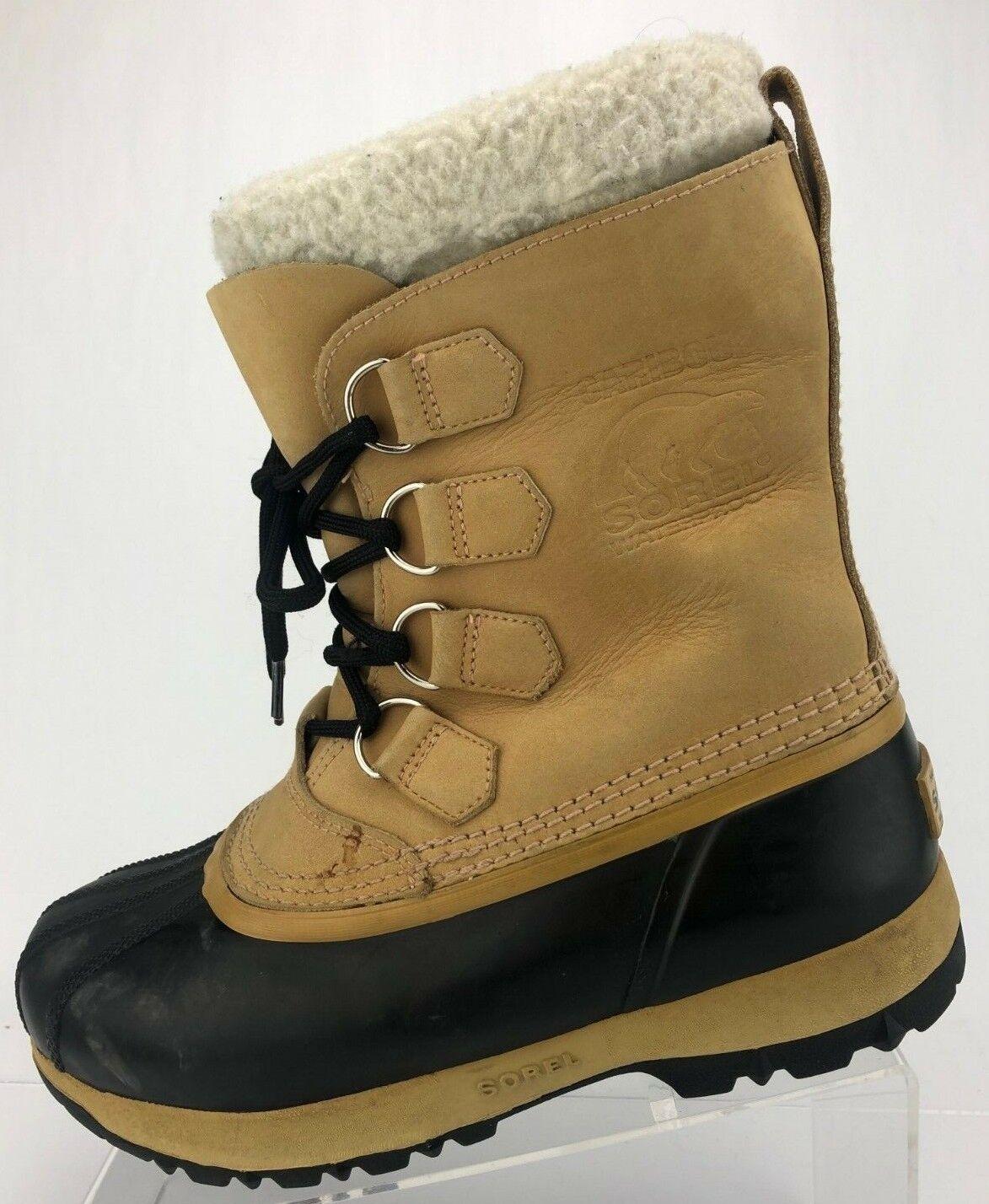 servizio di prima classe Sorel Caribou II II II Winter stivali Marrone nero Insulated Snow WaterProof donna 8  ti renderà soddisfatto