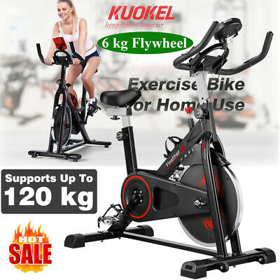 Exercise Bike Fitness Weight Loss Cardio Machine Cycle Indoor Fitness Bike 120kg