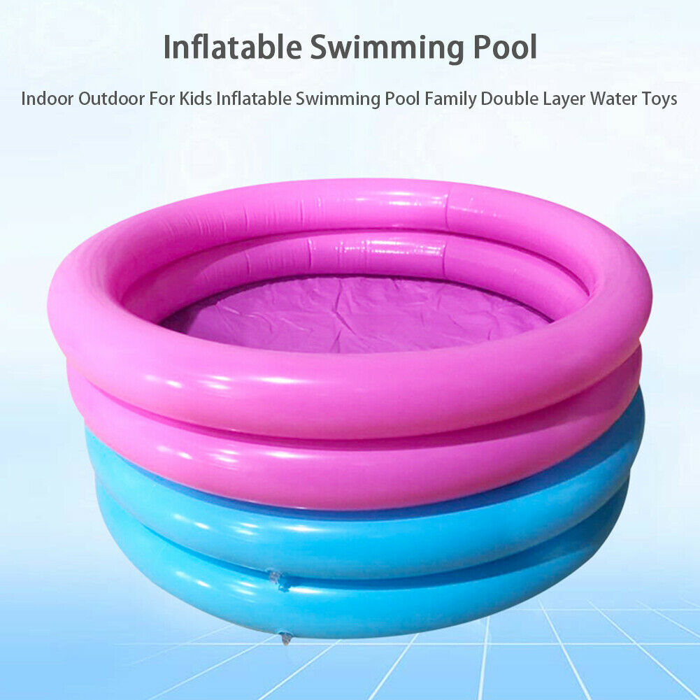 Inflatable Swimming Pool Garden Outdoor Summer Inflatable Kids Paddling Pools