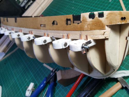 Spantenzwingen für den Holzschiffmodellbau 10 Stück Top!