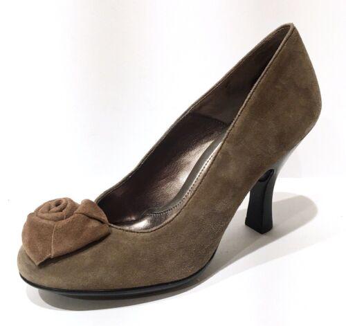 Size Pump in morbida Rose 9 Donna marrone Sofft scamosciata grigio Taupe Fontenella pelle Comfort 4Pnx7