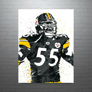 Troy Polamalu Pittsburgh Steelers Poster FREE US SHIPPING
