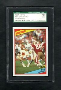 1974-TOPPS-124-DAN-MARINO-INSTANT-REPLAY-DOLPHINS-SGC-9-MINT-CENTERED