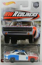Hot Wheels *HW REDLINERS* '70 Dodge Charger R/T  REAL RIDERS NIP!