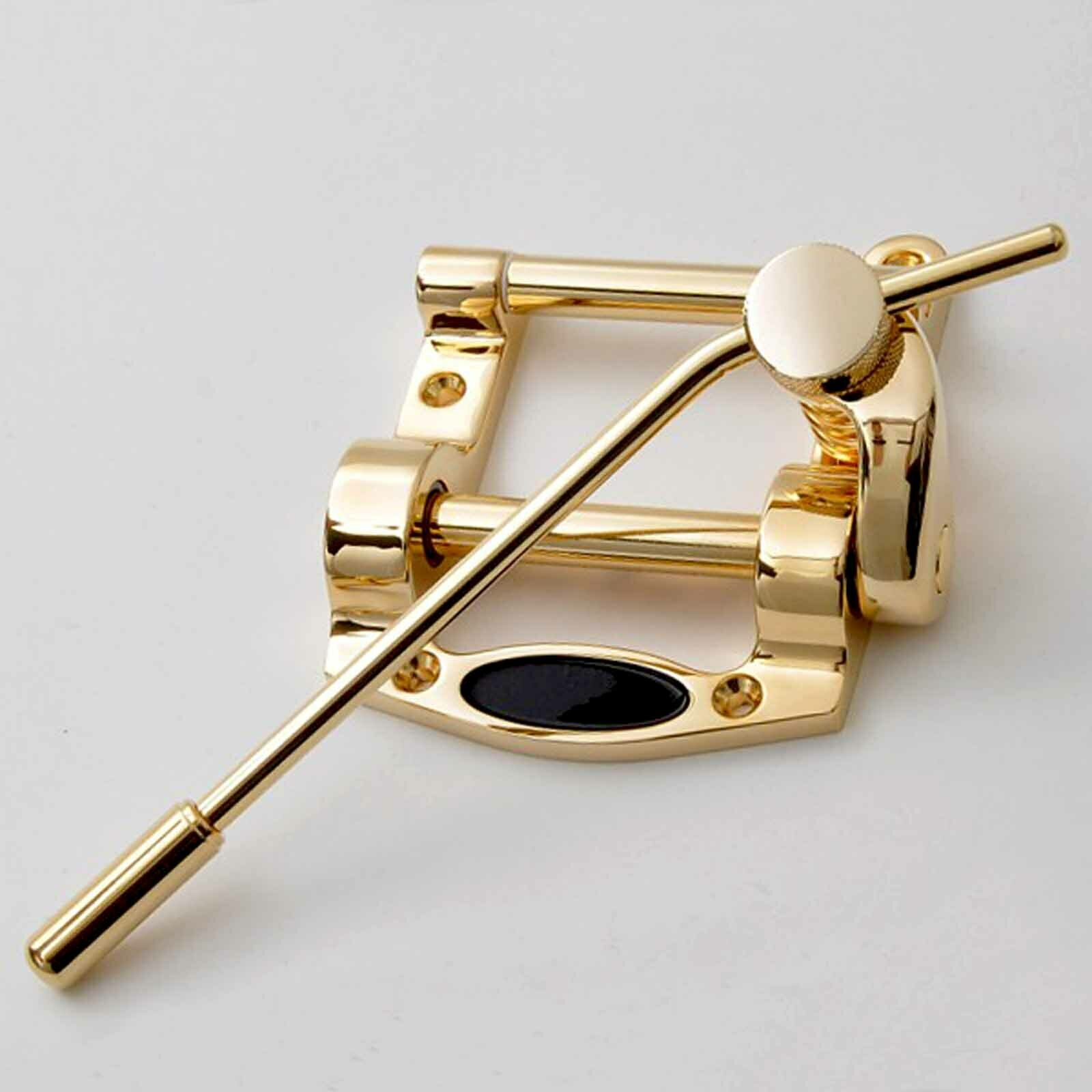 Goldo g5 tremolo flatptableguitars telesg.ähnliche bigby b5 duesenberg tdbsn Gold