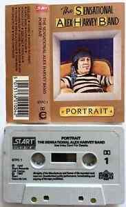 THE-SENSATIONAL-ALEX-HARVEY-BAND-Portrait-Cassette-Album-VG-EX