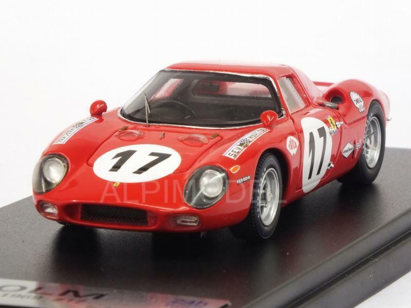 Ferrari 250 LM Le Mans 1969 Zeccoli - Posey 1 43 LOOKSMART LSLM060