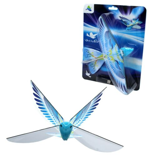 Self Flying eBird Blue Pigeon Electronic Flying Bird Toy Drone