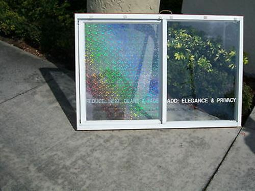 """HOLOGRAPHIC WINDOW TINT FILM 20/""""X100/' RL you pick your design from three choices"""