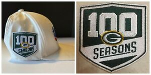 differently 1d78a e699b Details about GREEN BAY PACKERS 100 SEASONS PATCH COMBO 2