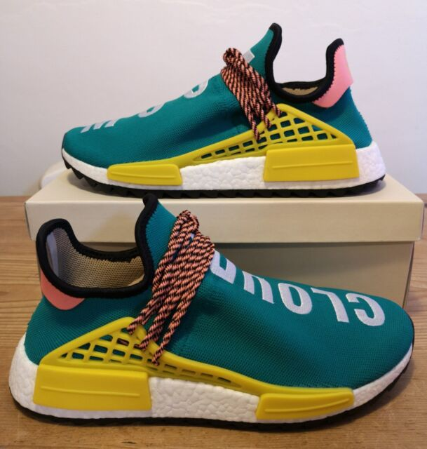 best cheap cc3e4 e6695 Adidas Pharrell Williams Human Race NMD Trail Sun Glow UK 9.5 US 10 EU 44  AC7188