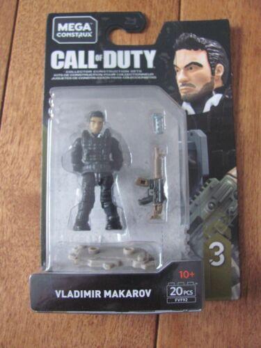 Mega Construx Call of Duty VLADIMIR MAKAROV Series 3 Figure FVF92 NEW