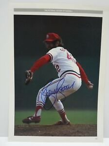 Bruce Sutter Baseball Signed Autographed 10x14 Photo PSA or BAS Guaranteed F7