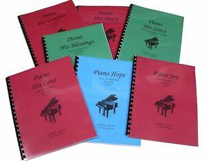 7 Church Hymn Arrangements Books for Piano - Books 8 - 14 Solo Offertory Worship