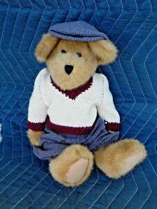 Richard-Tee-Dobbsey-14-034-Golf-Sports-Plush-Bear-Boyds-w-Tag