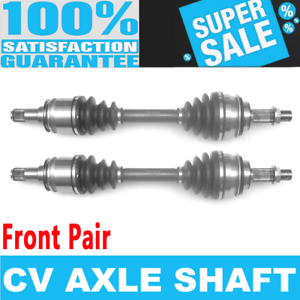Details about 2x Front CV Axle Drive for TOYOTA 4RUNNER 03-10 FJ CRUISER  07-10 TACOMA 05-12