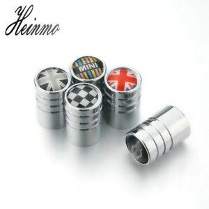 4pcs Car Chrome Tire Tyre Wheel Stems Air Valve Caps For