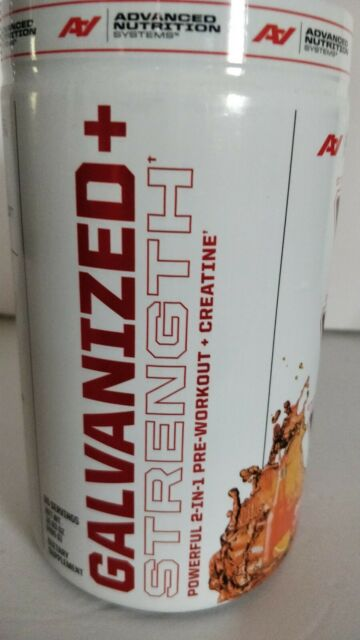 GALVANIZED/RIPPED Advanced Nutrition PreWorkout Orange Soda Flavr Qty Discounts!