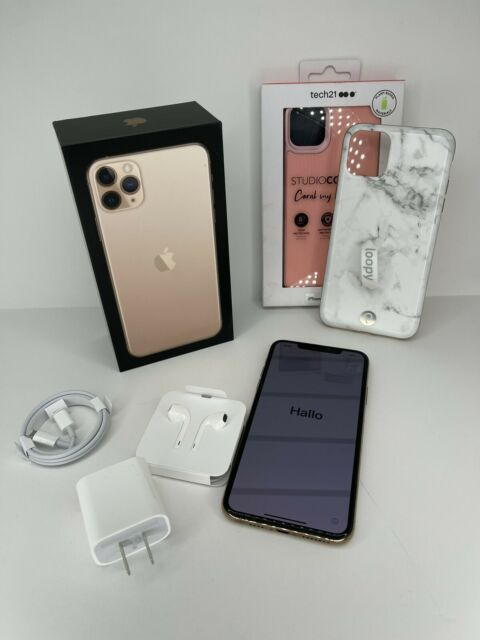 Apple iPhone 11 Pro Max 256GB Gold US Cellular A2161 (CDMA + GSM) - Unlocked