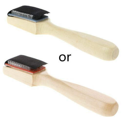 Wood Suede Sole Wire Cleaners Dance Shoes Cleaning Brush For Footwear New