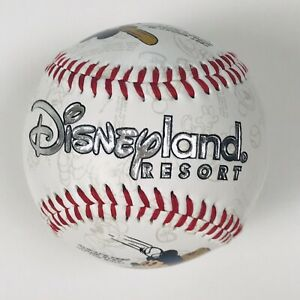 Disney-Parks-White-Mickey-Mouse-Disneyland-Resort-Collectible-Souvenir-Baseball