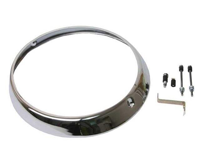 Priced Each 91163193300 Chrome Headlamp Retaining Ring URO