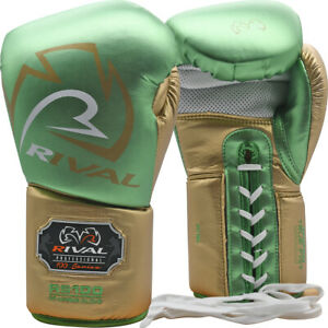 Rival-Boxing-RS100-Professional-Lace-Up-Sparring-Gloves-Green-Gold