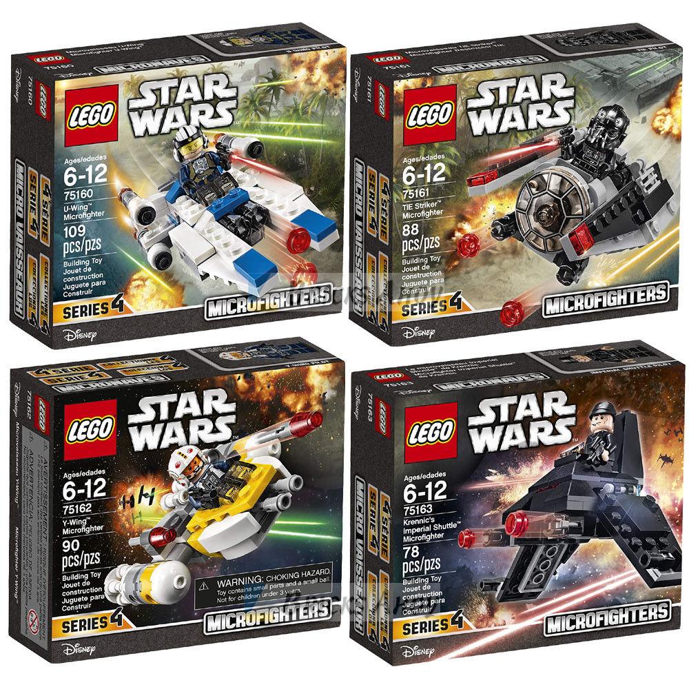 LEGO 75160   75161   75162   75163 - Star Wars  U-WING   TIE   Y-WING   SHUTTLE