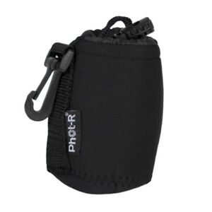 Phot-R-Neoprene-DSLR-Camera-Lens-Soft-Protector-Carry-Case-Bag-Pouch-Small
