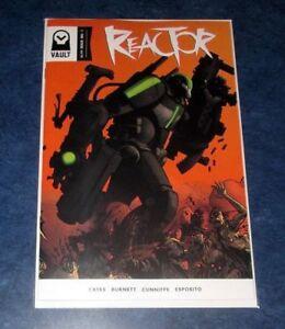 REACTOR #1 DONNY CATES 1st print VAULT COMICS 2017 RARE NM god country redneck