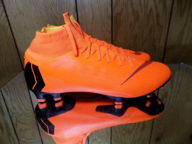 9508e3a68 Nike Superfly 6 Pro FG Soccer Cleats Flyknit Total Orange ACC AH7368-810 s 9
