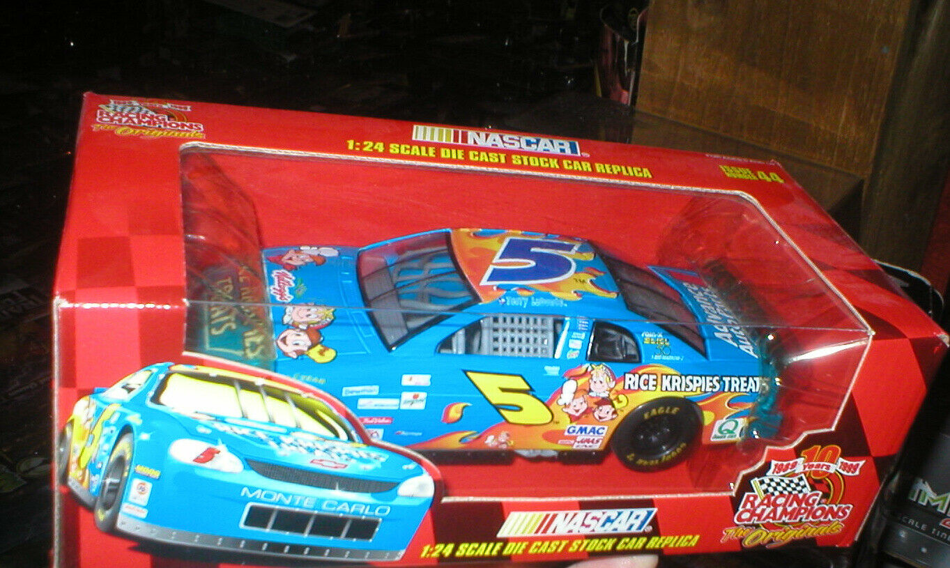 TERRY LABONTE RICE KRISPIES CAR 1 24 RACING CHAMPS, NEVER OPENED