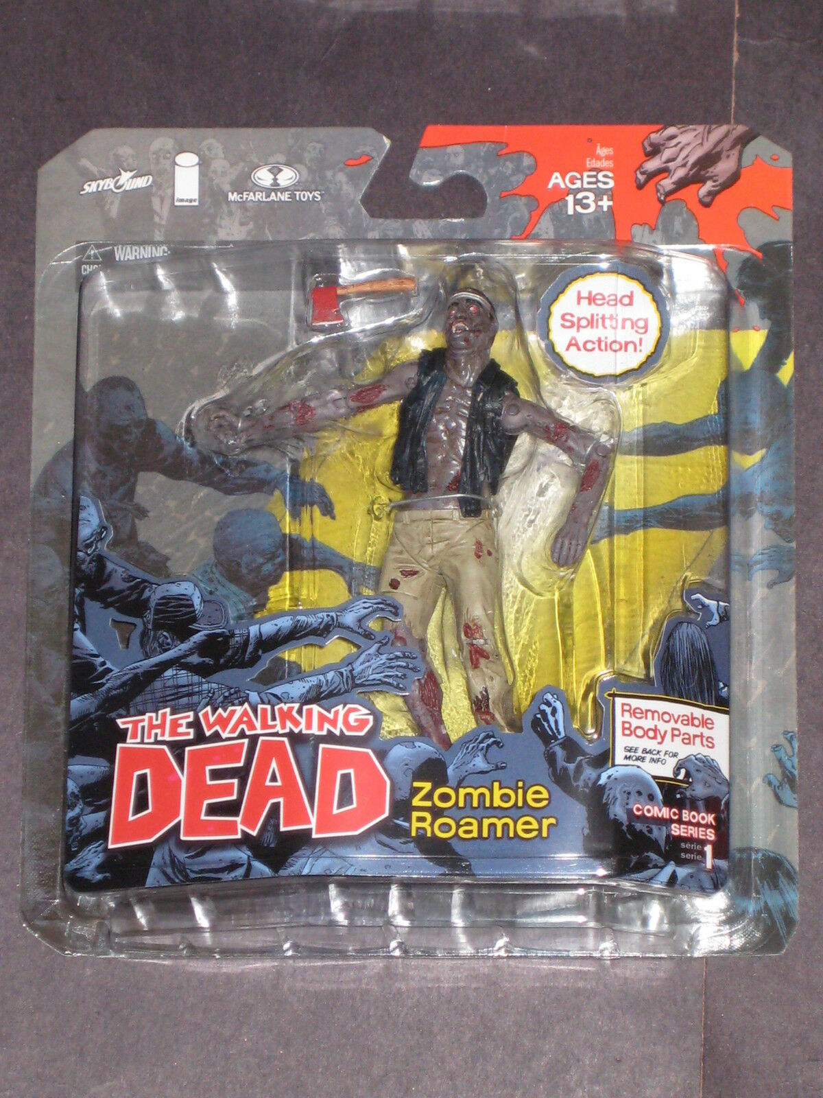 el estilo clásico The Walking Dead Serie 1 figura ZOMBIE ROAMER cómic imagen imagen imagen Kirkman MCFARLANE AMC  comprar descuentos