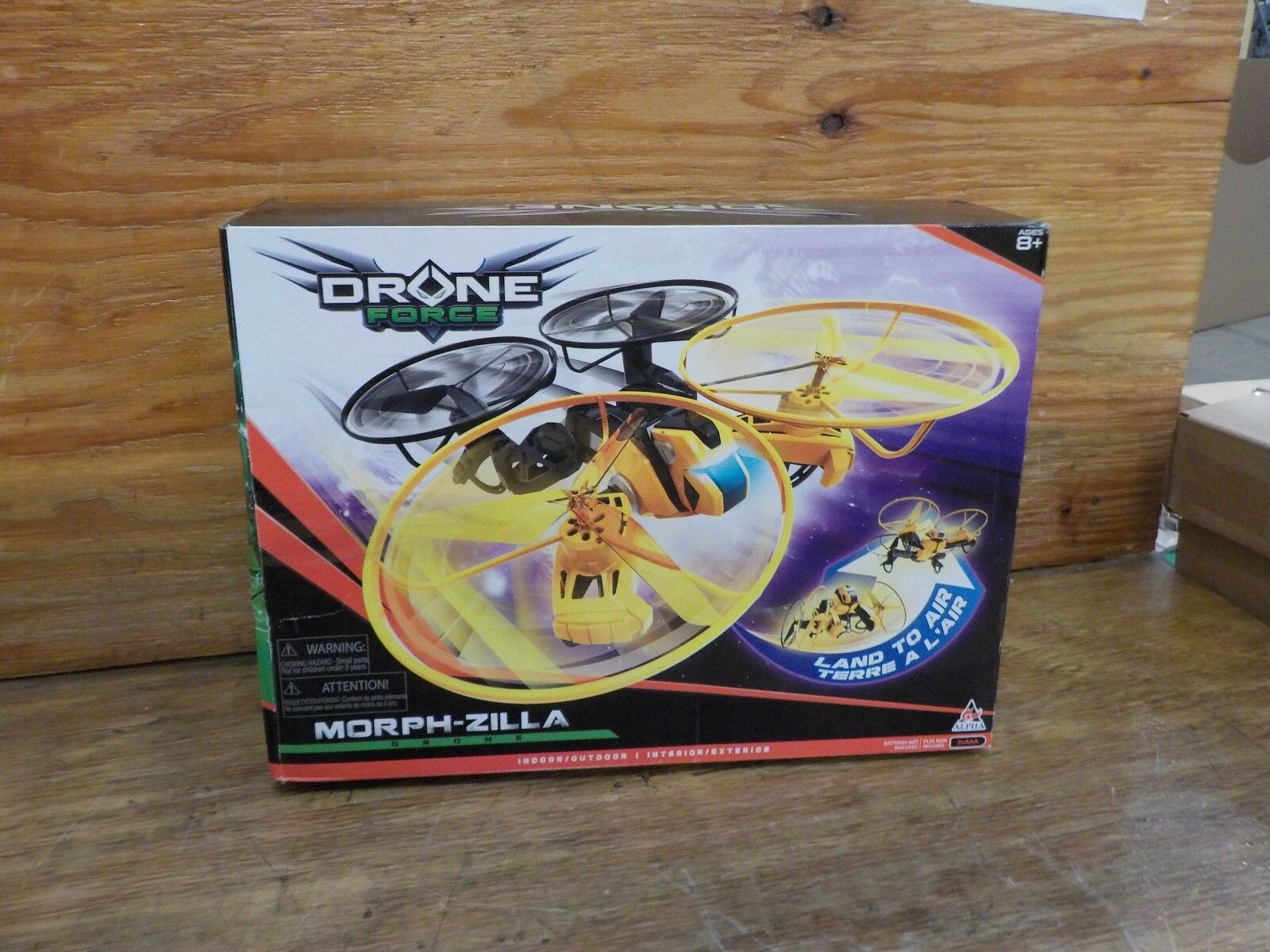Drone Drone Drone Force Morph-Zilla-2.4Ghz Indoor Outdoor Drone Helicopter giocattolo with Le to e3a164