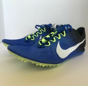 new style 1e75f 0adc6 $125 Nike Zoom Victory 3 Mens Distance Racing Shoes 835997-413 Blue ...