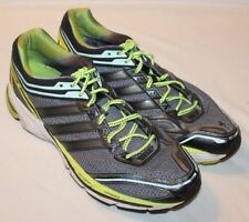 2fa50eaf3 Adidas Mens Supernova Glide Boost ATR Running Shoes Size 18 Green Black  Sneakers