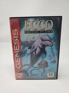 Ecco: The Tides of Time (Sega Genesis, 1994) Authentic