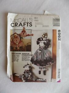 McCall-039-s-Crafts-6562-Chicken-or-Cow-Draft-Busters-by-Faye-Wine-1993-Uncut-FF