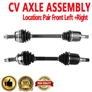Details about Front Pair CV Axle Assembly for HONDA CR-V 97-01 4WD  Automatic Transmission